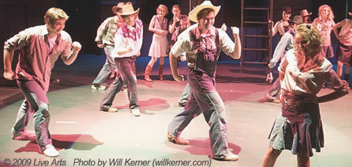 Live Arts Production of Footloose, 2009